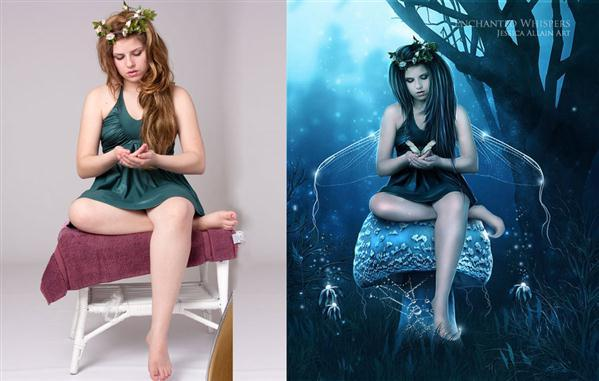 Beautiful Fairy Photoshop Artwork