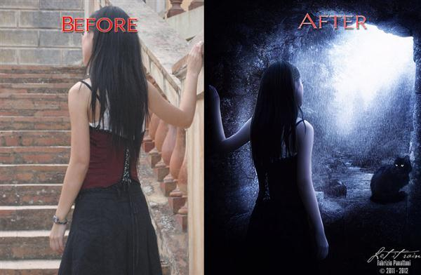 Before After Fantasy Manipulation