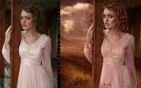 Romantic Painting Portrait Retouch