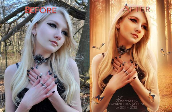 Before After Before After Photo Manipulation