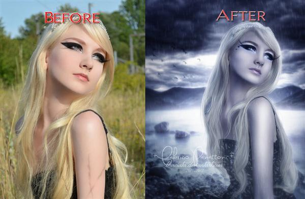 Before After Manipulation Artwork
