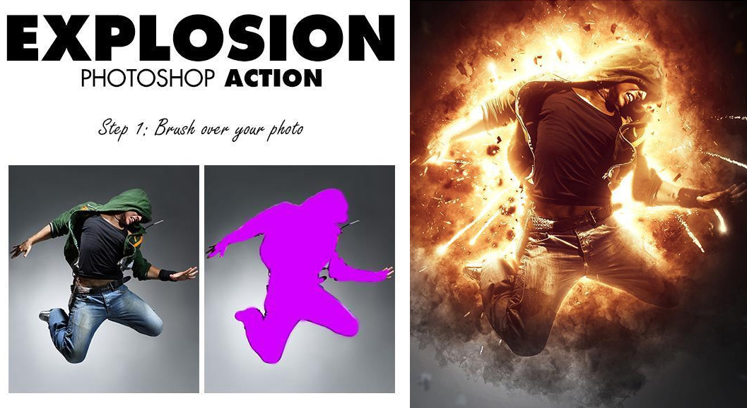 Best Fire Effects Photoshop Actions That You Must Have | PSDDude