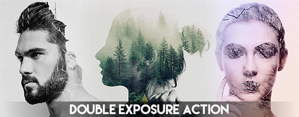 Best photoshop actions for stunning photo effects part 1 psddude double exposure best seller photoshop action publicscrutiny Images