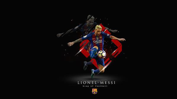 Barcelona Messi Photoshop Wallpaper Tutorial