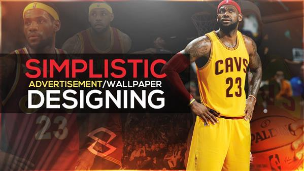 Sports Wallpaper Design Photoshop Tutorial