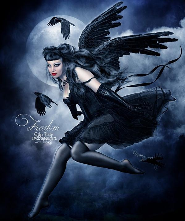 Dark Angel Photo Manipulation