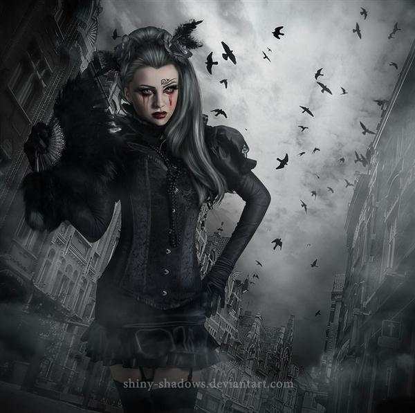 Dark Gothic Photoshop Manipulation