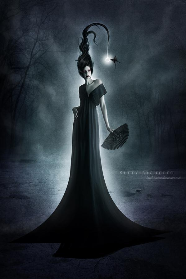 Gothic Dark Queen in Photoshop