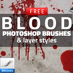 Blood Drip Brushes for Photoshop psd-dude.com Resources
