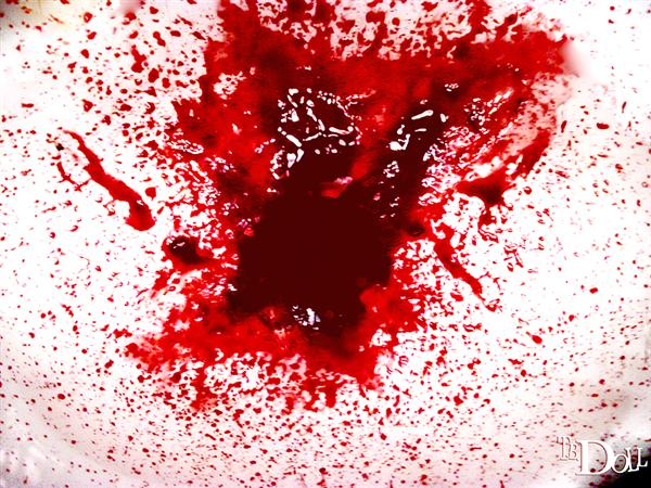 Blood Splash Texture – All images have two colors: