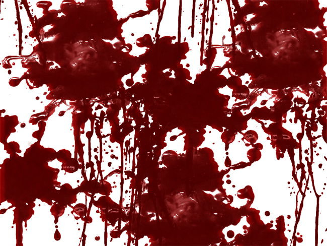 Free Blood Splatter and Drip Texture