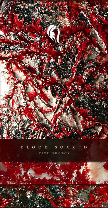 Package Blood Soaked 4 by resurgere photoshop resource collected by psd-dude.com from deviantart