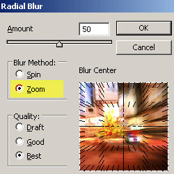 Zoom Radial Blur <span class='searchHighlight'>Photoshop</span> Tutorials psd-dude.com Resources