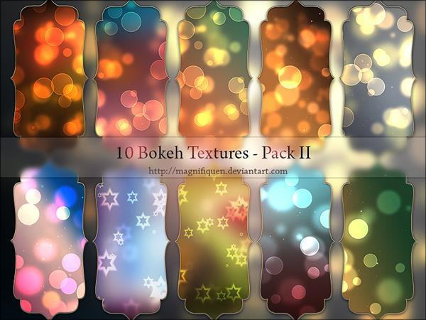 10 Light Bokeh Textures