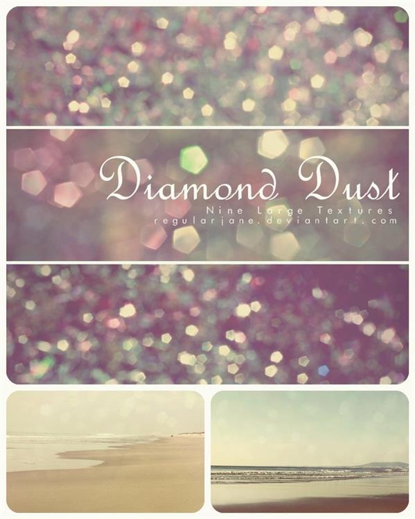 Diamond Sparkle Bokeh Lights