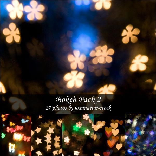 Different Light Bokeh Shapes Pack