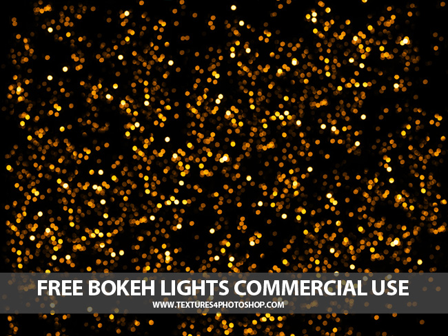 Free Bokeh Lights Texture for Photoshop