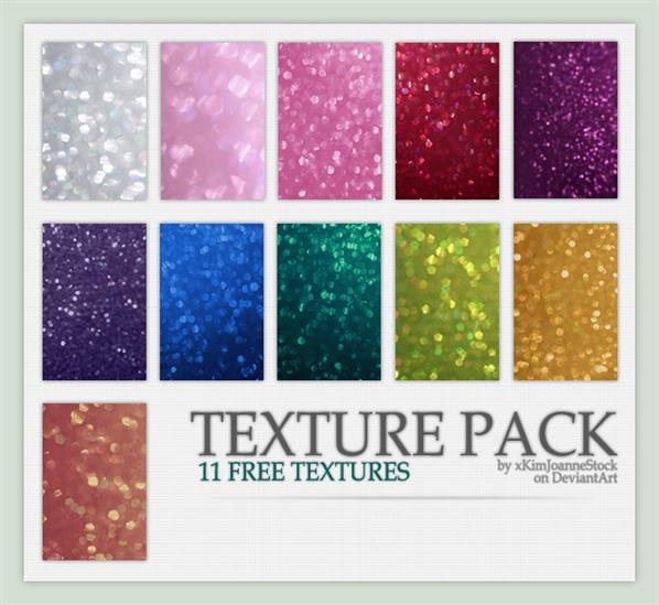Glitter Bokeh Texture Pack by xKimJoanneStock photoshop resource collected by psd-dude.com from deviantart