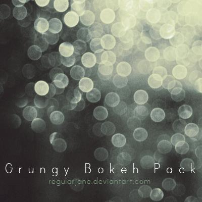 Grungy Bokeh Background Pack