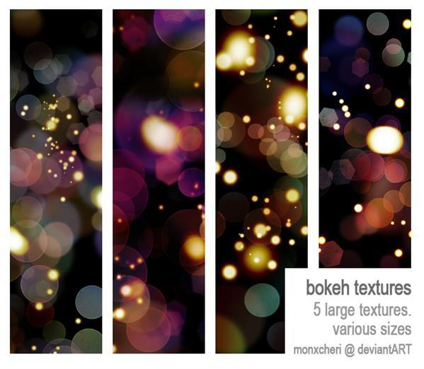 light bokeh texture