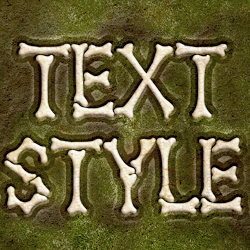 Skeleton Bones Text Effect Photoshop Free Style psd-dude.com Resources