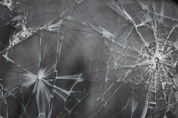 Cracked Glass Texture II by EverythingIsInStock photoshop resource collected by psd-dude.com from deviantart