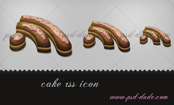 Cake Rss Icon
