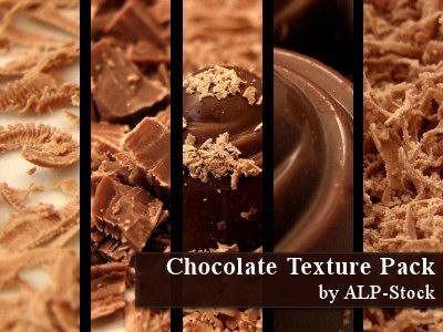 Chocolate Pack by ALP-Stock photoshop resource collected by psd-dude.com from deviantart