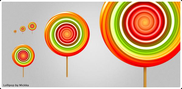 Lollipop by Mickka photoshop resource collected by psd-dude.com from deviantart