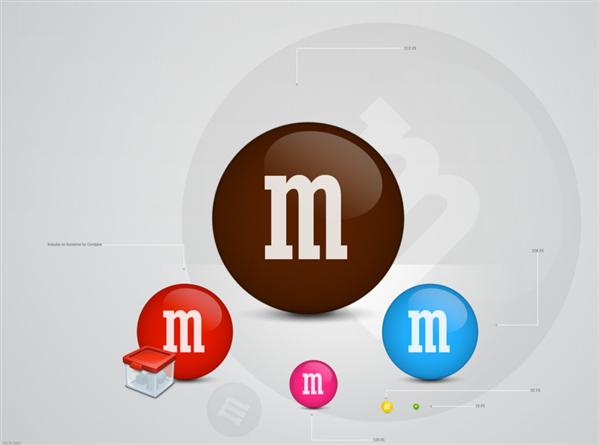 MNMs by Delta909 photoshop resource collected by psd-dude.com from deviantart