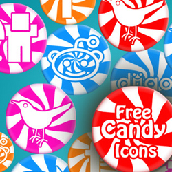 Free Sweet Candy <span class='searchHighlight'>Social</span> <span class='searchHighlight'>Icon</span> Pack psd-dude.com Resources