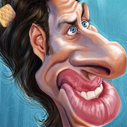 Funny Caricatures of Celebrities by Artist Anthony Geoffroy psd-dude.com Resources