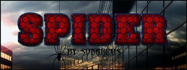 Comics Spider Man Photoshop Style