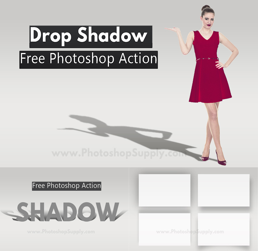 Shadow Photoshop Action (Free)