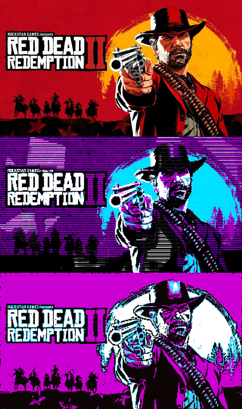 CGA Poster Red Dead Redemption 2