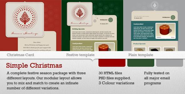 Christmas Email Template | 15$