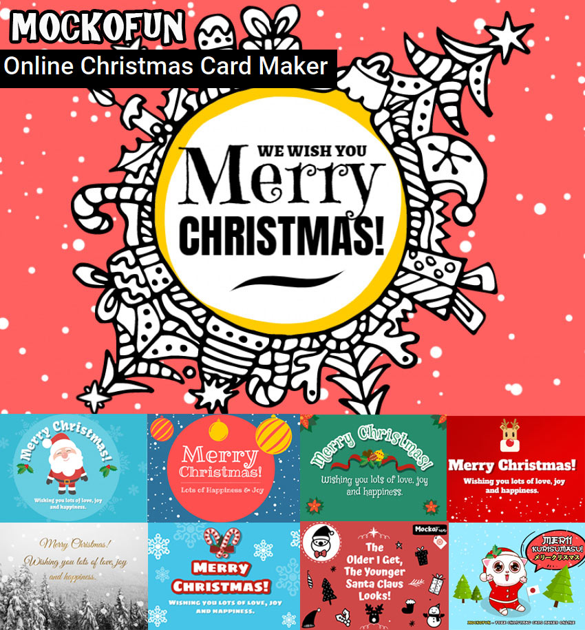 Online Christmas Card Maker