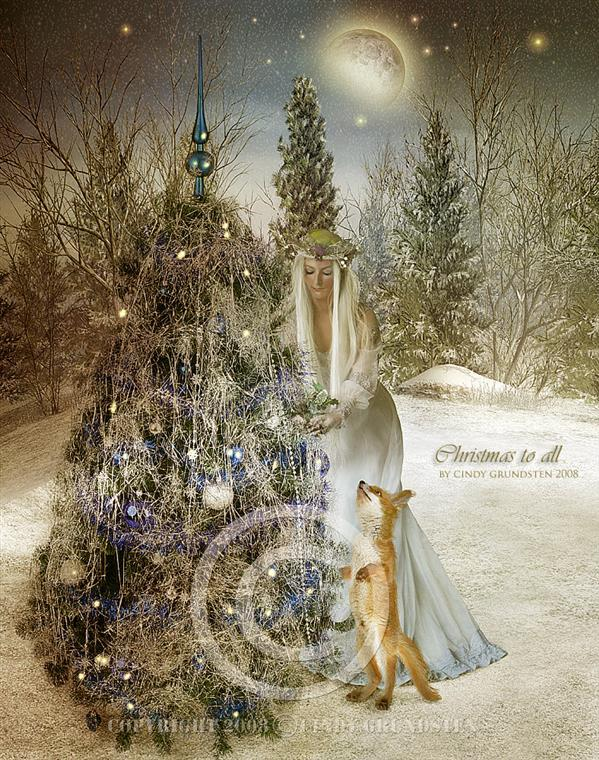 Christmas Tree Photoshop Manipulation