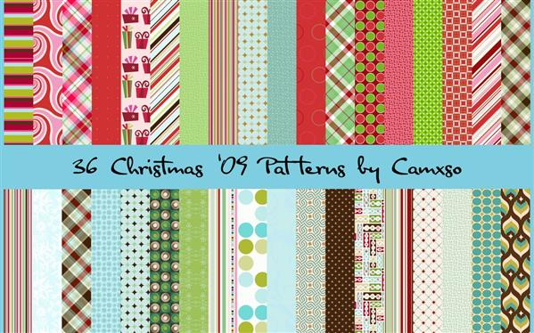 Christmas Photoshop Patterns