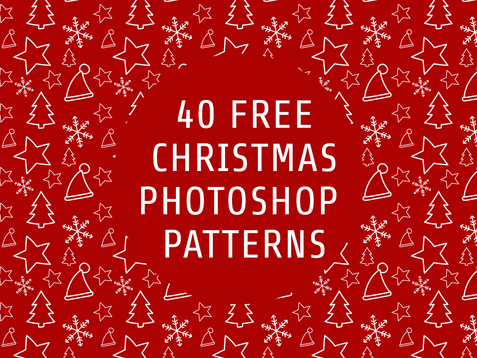Christmas Patterns For Photoshop Free And Premium PAT Files PSDDude Amazing Christmas Patterns