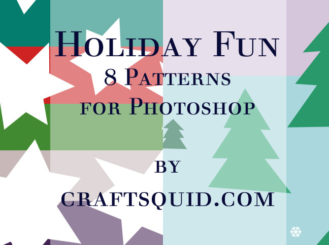 8 Holiday Christmas Patterns