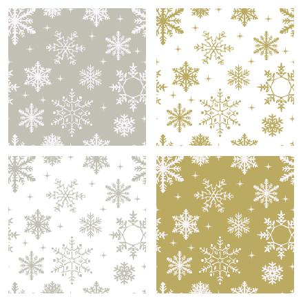 Silver and Gold Flake Photoshop Patterns