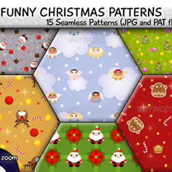 Christmas Patterns for Photoshop Free and Premium PAT Files psd-dude.com Resources