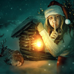 Christmas is Coming Photoshop Manipulations psd-dude.com Resources