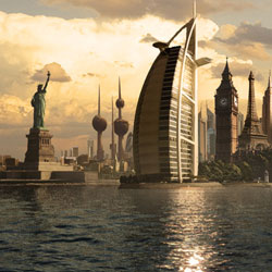Amazing Urban City Photo Manipulations Part 1 psd-dude.com Resources