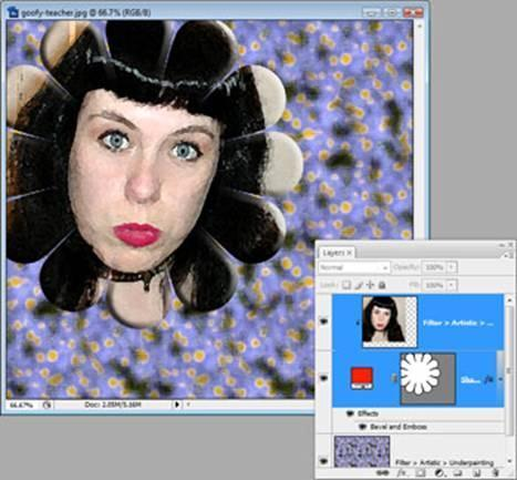 Create a Clipping Mask in Photoshop