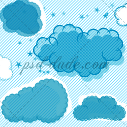 <span class='searchHighlight'>Cloud</span> Brushes for Photoshop psd-dude.com Resources