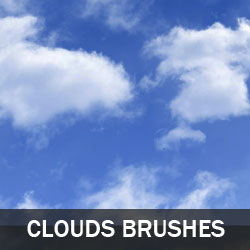 Clouds Photoshop Brushes psd-dude.com Resources