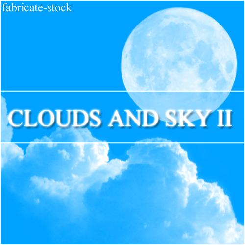 Clouds and Sky II by fabricate-stock photoshop resource collected by psd-dude.com from deviantart