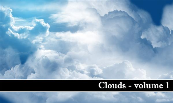 Clouds volume 1 by MiloArtDesign photoshop resource collected by psd-dude.com from deviantart